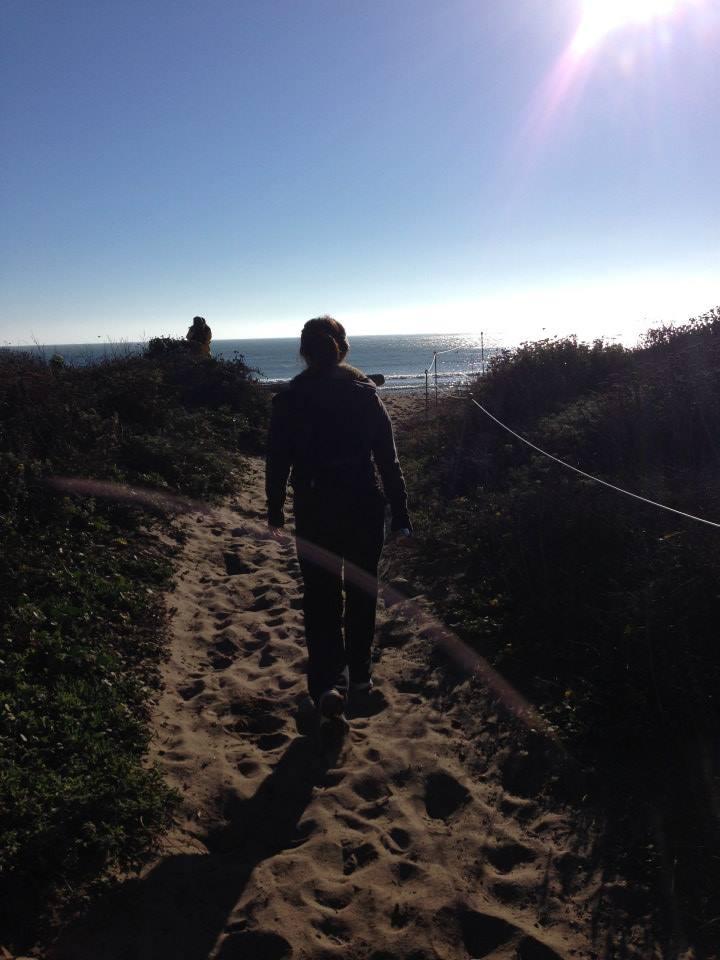 End of beach trail