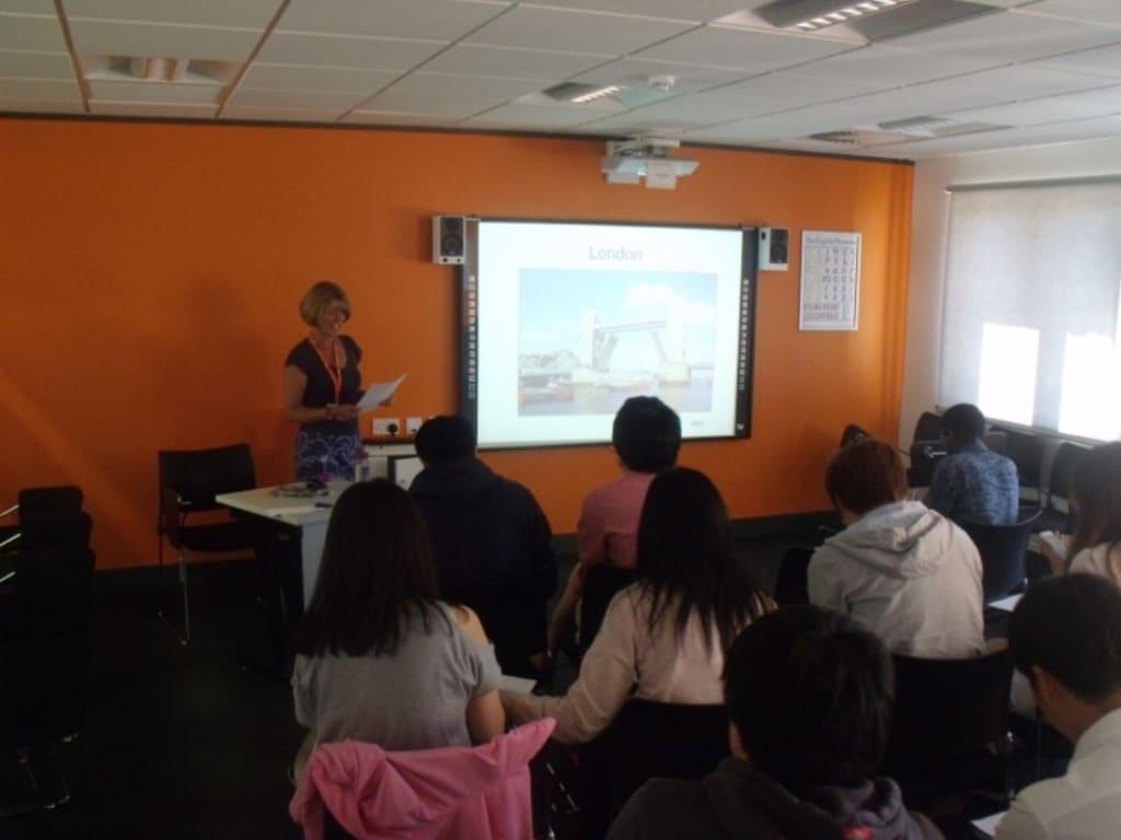 Academic Year Lecture at EC Cambridge English School