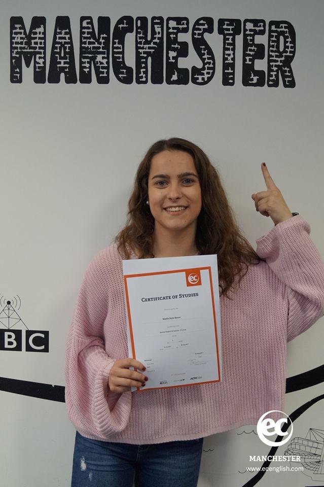 My EC Manchester English Centre Experience - Spanish Student Noelia