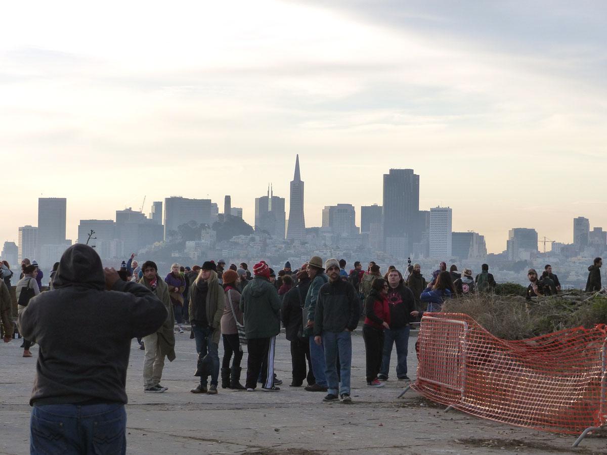 Alcatraz Sunrise Ceremony