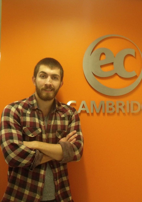 Birkan from Turkey talks about Cambridge IELTS at EC Cambridge