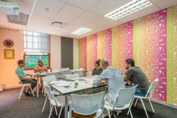 One of our classrooms at EC Cape Town