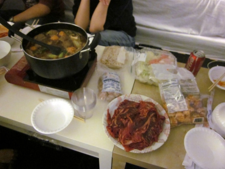International Food Party