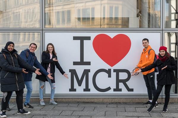 I Love Manchester EC English Students