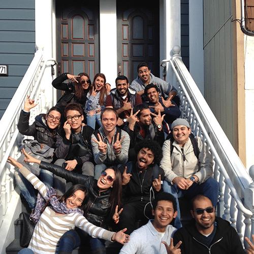english study in EC San Francisco