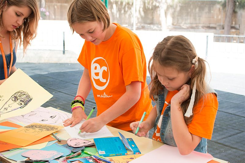 English Summer Camp for Children in Malta - EC Young Learners