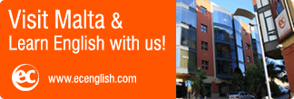 English languages courses Malta